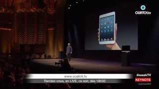 Ce soir ! iWeek spécial Keynote Apple WWDC 2014 depuis San Francisco
