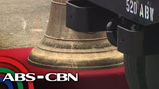 FIRST LOOK: The Balangiga bells in Philippine soil
