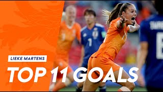 Lieke Martens | Top 11 goals in Oranje 🧡