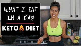 WHAT I EAT IN A DAY (KETO DIET + INTERMITTENT FASTING)