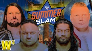 WWE Summerslam 2018 Review | Wrestling With Wregret