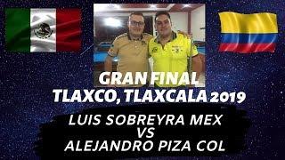 Final...Luis Sobreyra (Méx) Alejandro Piza (Col)