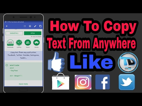 How To Copy Text From Anywhere On Android
