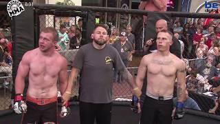 Hardrock MMA 100 Fight 1 Jeff Johnson vs Damon Bell 170 Ammy