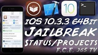 iOS 10.3.3 / 10.3.2 / 10.3.1 64-bit Jailbreak Status: 2 Active Jailbreak Projects!