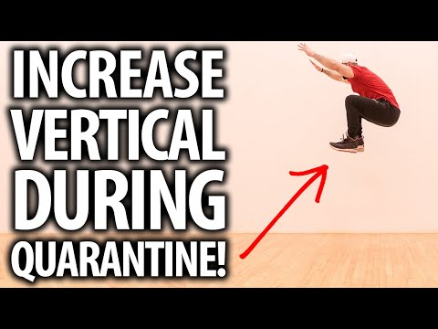 How To Increase Vertical Jump DURING QUARANTINE!!! (Full Workout)