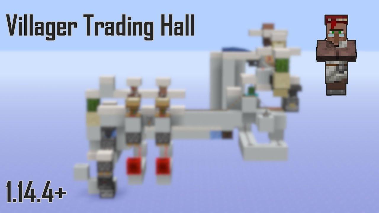 minecraft 1.14 villager trading