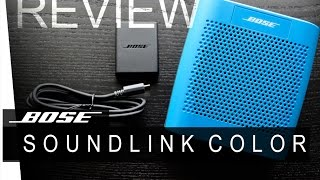 Bose Soundlink Color - REVIEW
