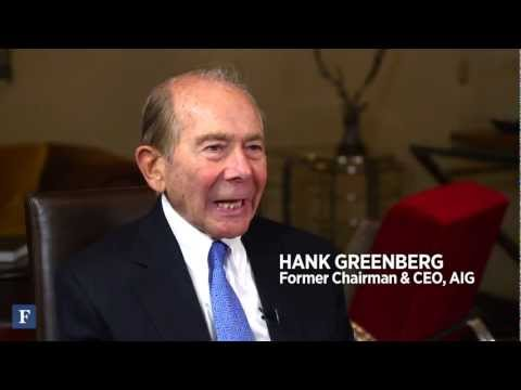 Hank Greenberg: Insurance, Intrigue And AIG