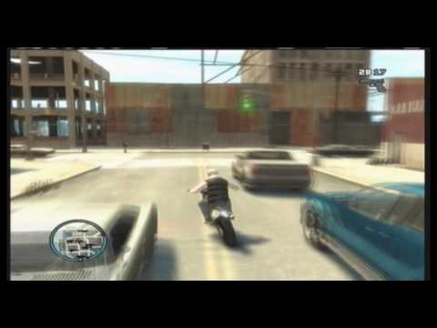 GTA 4 FAIL LAND DIRT BIKE Quality Test