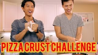 Pizza Crust Challenge!! FT. Lazyron!