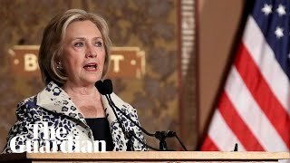 Trump-Ukraine scandal: Hillary Clinton says US president 'endangered' the country