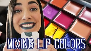 Mixing My Own Lip Colors with the Anastasia Beverly Hills Lip Palette thumbnail