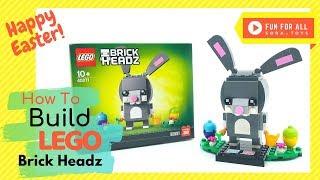 🐰 Happy Easter! | LEGO® BrickHeadz™ 2019 Easter Bunny 40271 | How To Build Animation
