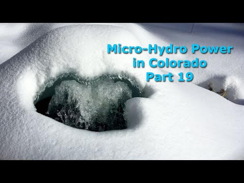 Part 19 MicroHydro Power System in CO