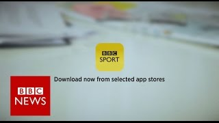 Download the BBC Sport App - BBC News