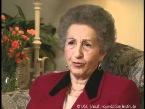Jewish Survivor Rena Gelissen Testimony