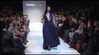 Conchita Wurst - Milk fashion show, Vienna Fashion Week 2013