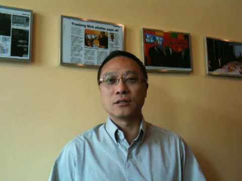 Eddie Chau speaking on the Digital Brand Index(DBI)