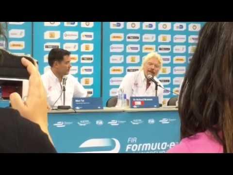 Richard Branson on Tesla competition, battery technology