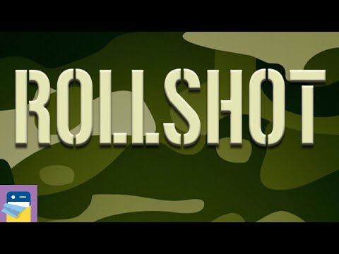 Rollshot - World War Puzzle: Levels 1 - 10 Walkthrough & iOS Gameplay (by Florian Cordi / Arkolve)
