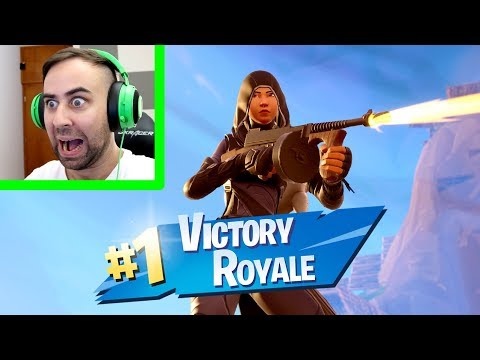 OMG! MY FIRST WIN ON FORTNITE BATTLE ROYALE IS HERE!