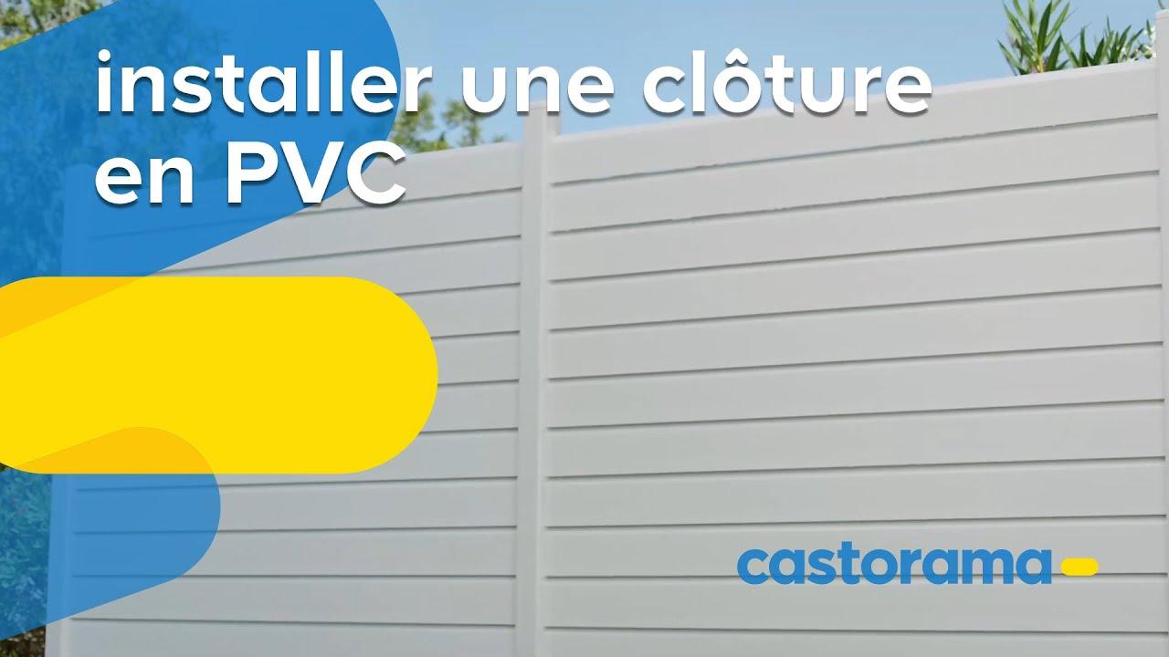 Les Clotures Pvc Castorama Fr