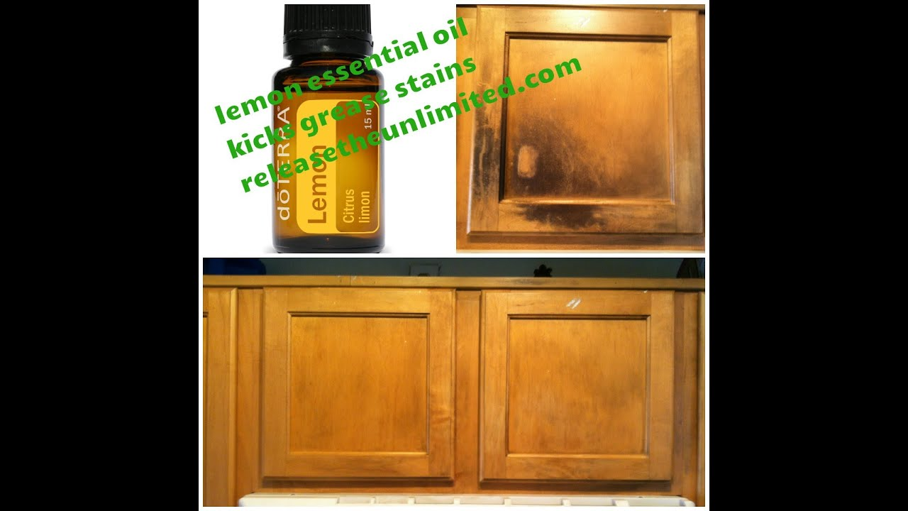 Lemon Essential Oil Uses No 2 Removing Stains On Wood Youtube