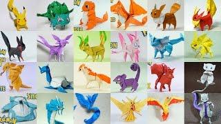 Top Origami Pokemon 2014 - 2016 (Henry Phạm)