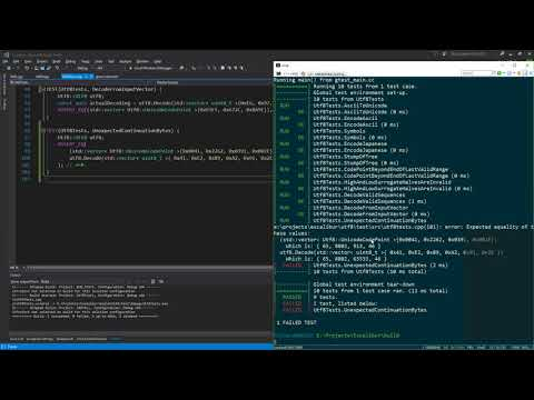 0012 - C++ programming: Unicode UTF-8 and Legacy Code