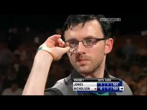World Grand Prix Darts 2009 - All the 9 Darter Attempts