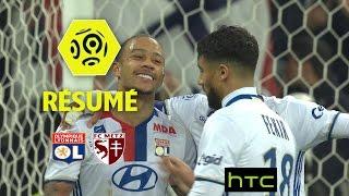 Olympique Lyonnais - FC Metz (5-0)  - Résumé - (OL - FCM) / 2016-17