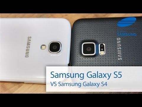 Samsung Galaxy S5 vs Galaxy S4 Vergleich deutsch HD