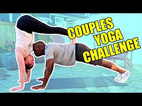 COUPLES YOGA CHALLENGE: YOGA POSES FOR TWO *EASY*