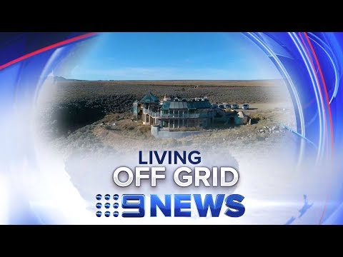 Inside the world's largest off grid community | Nine News Australia