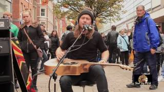 Oisin & Malachy - Time - Market street Manchester  - Great busking