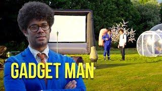 Richard Ayoade & Stephen Mangan go 'Glamping' | Gadget Man