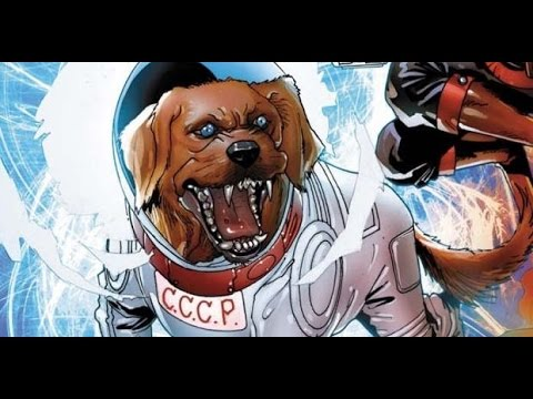 Cosmo The Talking Dog - Guardians Of The Galaxy - YouTube Cosmo The Dog Guardians Of The Galaxy