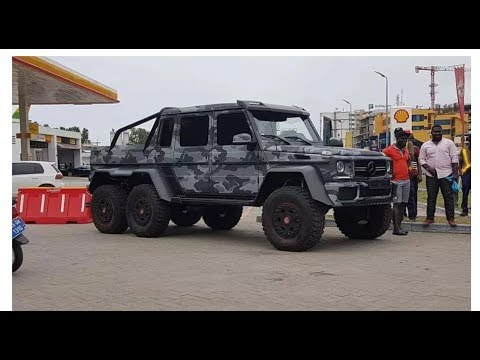 Luxurious Cars Of SULLEY MUNTARI - 2017