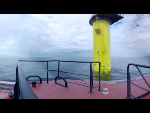 Experience an offshore wind farm from up close - Gode Wind in 360°
