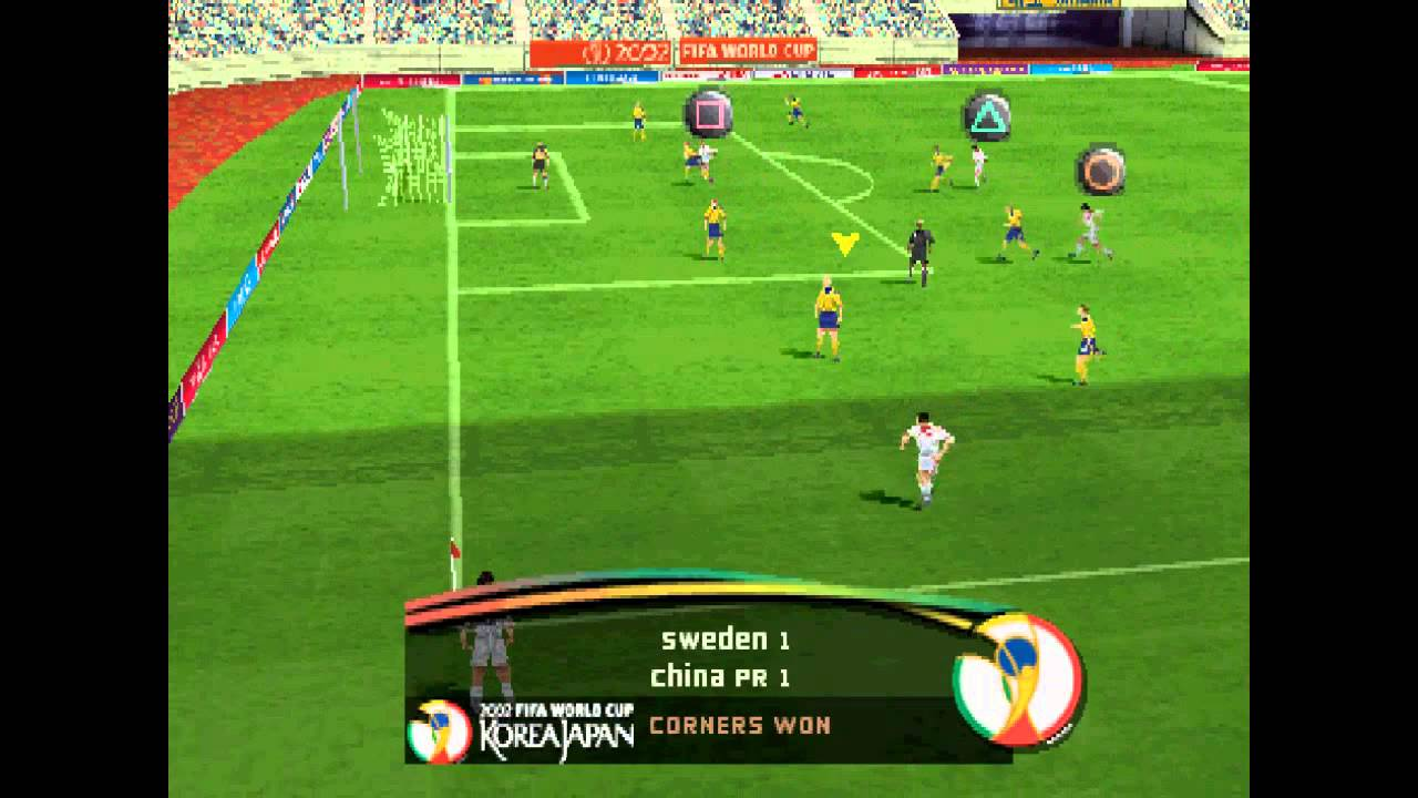 2002 Fifa world cup Ps1 iso Download