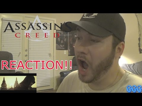 Assassin's Creed Movie Trailer LIVE REACTION!!