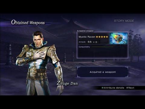 Warriors Orochi 3 Ultimate - Zhuge Dan Mystic Weapon Guide