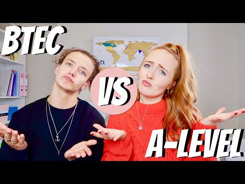 BTEC VS A-LEVEL! WHAT IS RIGHT FOR YOU? AND OUR EXPERIENCES - LUCY STEWART-ADAMS