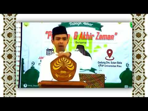 Ceramah Islam Ustadz Abdul Somad - Nasihat Untuk Pejabat Negara 😱😱