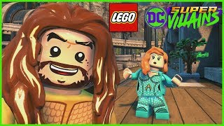 LEGO DC Super Villains - DLC AQUAMAN Movie Character Pack 2 Gameplay