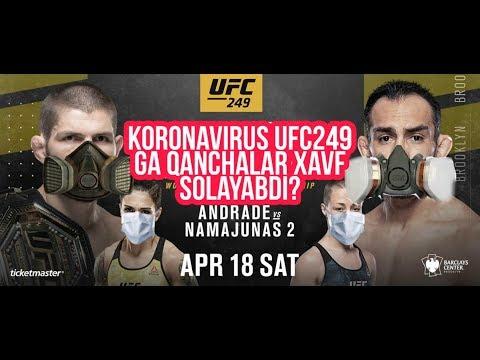Koronavirus xamda UFC 249 haqida, Maxmud Murodovxam urushmaydimi?
