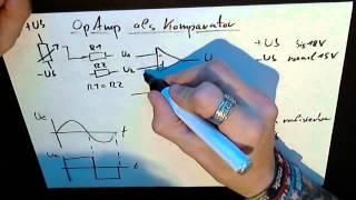 Komparator / Schwellwertschalter / Vergleicher