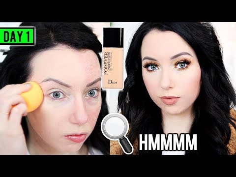 New! DIOR FOREVER UNDERCOVER FOUNDATION [First Impression Review & Demo!] 15 DAYS OF FOUNDATION