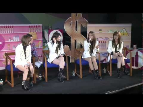 121228 YinYue Guest E17: I Don't Need A Man - miss A 미쓰에이 Special (part 1)